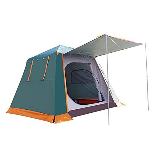 Tienda de campaña instantánea automática de fácil configuración, ideal para playa, viajes, senderismo, camping, caza, pesca (color: verde, tamaño: 240 x 240 x 190 cm)