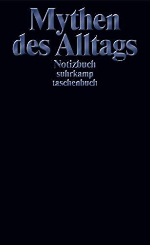 Notizbuch suhrkamp taschenbuch: Mythen des Alltags