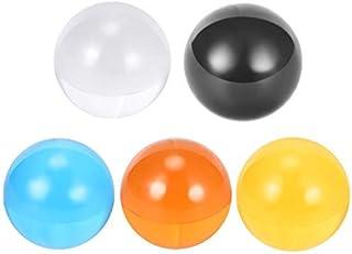 5pcs 22mm Diameter uxcell PTFE Ball Diaphragm Pneumatic Pump White Ground Finish