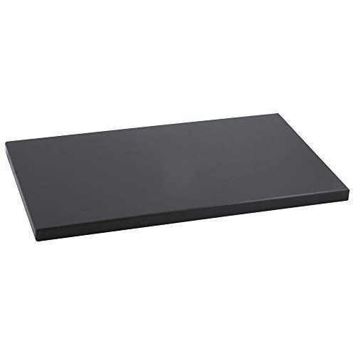 Metaltex 73381538Schneidebrett, Polyethylen 50 x 30 x 2 cm Schwarz