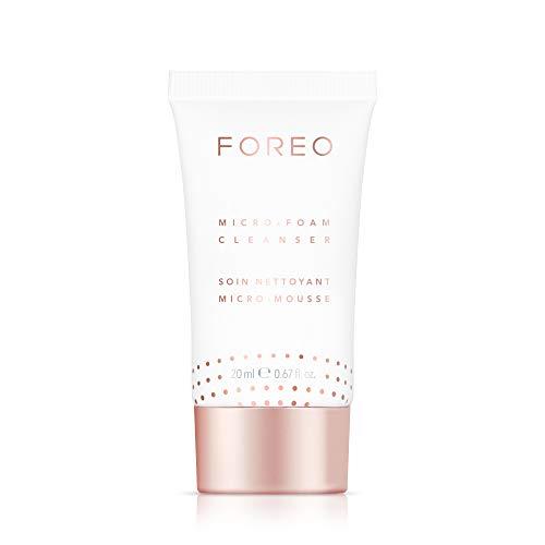 FOREO Micro-Foam Reiniger 20ml, Sanft Schäumende Gesichtsreinigung für Alle Hauttypen, Tierversuchsfreie und Vegane Formel
