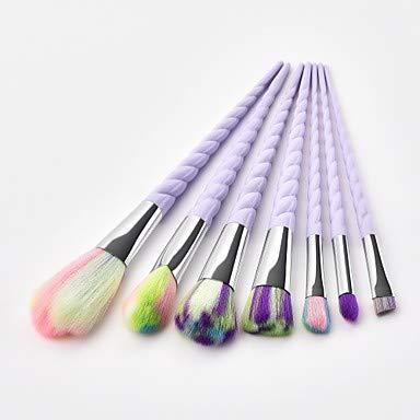 ZYC 7pcs Pinceaux à Maquillage Professionnel Pinceau à Blush/Pinceau Fard à Paupières/Pinceau à Lèvres Fibre Nylon Couvrant