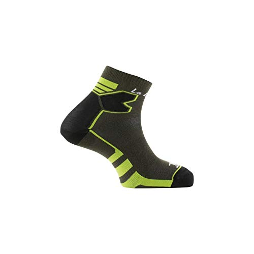 Thyo - Socquettes Double Trail Made in France - couleur - Gris vert - Pointure - 41-42