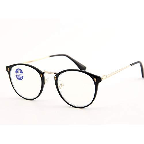 JIGAN leesbril kleuren unisex metaal met etui + 1,5 + 2,0 + 2,5 + 3,0 + 3,5