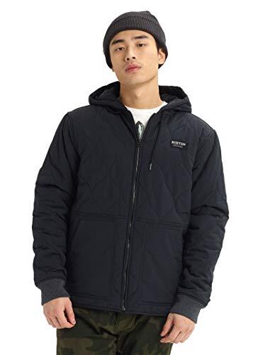 Burton Men's Mallet Hooded Jacket, True Black, Medium