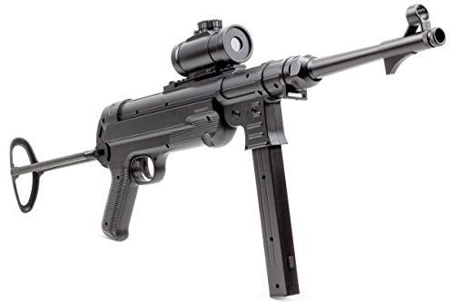 Germanseller Waffen Sturmgewehr Replica Maschinenpistole MP40 Softair Erbsenpistole +1000 BB
