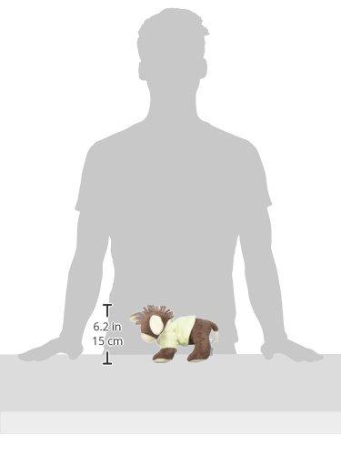 Sterntaler Spieluhr, Stofftier Esel Emmi, Austauschbares Spielwerk, Größe: M, Braun/Grün - 2