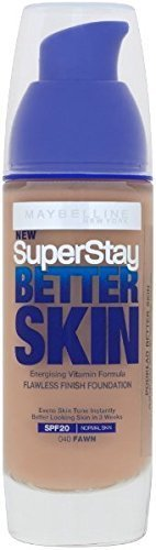 Maybelline Superstay Better Skin Energising Flawless Finish Foundation - 040 Fawn 30ml by Maybelline