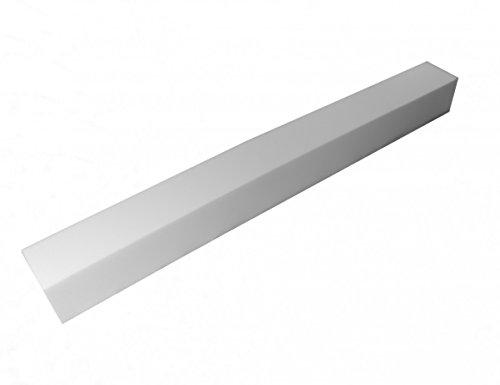 Manufaktur Schaumstoffe Wegerich Matratzenverlängerung aus Schaumstoff RG 35 200x10x10cm ohne Bezug