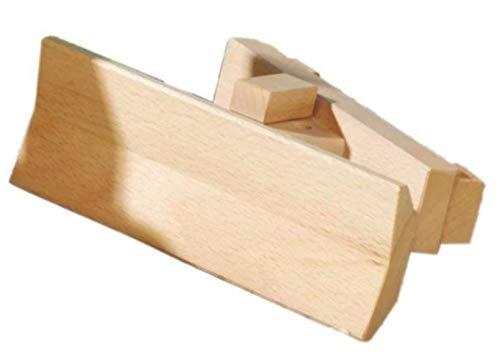 Fagus Schneepflug für Unimog Holzfahrzeug | Modell: 14.06 (ab 3 Jahren)