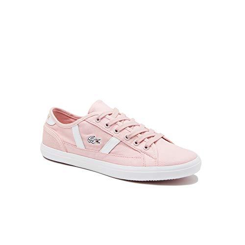 Lacoste Sideline 119 1 Cfa, Zapatillas para Mujer, Light Pink White, 38 EU