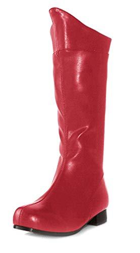 Ellie Shoes PL3408RD-L Super Hero Boot Taille Enfant Grand