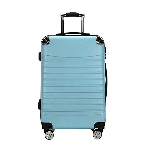 Ang-xj Trolley case student suitcase luggage trolley case waterproof, wear-resistant, boarding case suitcase luggage trolley case universal wheel boarding case,shipping box