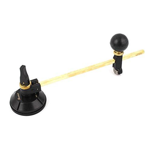 Aexit 20 Handwerkzeuge cm, 6 Stück, Kompasse Saugnapf, Meißel Glas, Kreis-Cutter