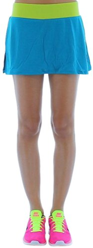 Nike Running Women's Knit Running Skirt Dri-Fit Blue Size XL