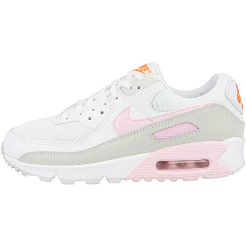 Nike Low Air Max 90 - Zapatillas para mujer, color Blanco, talla 41 EU