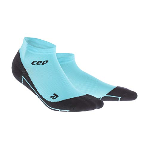 CEP – COMPRESSION LOW CUT SOCKS für Damen | Kurze Sportsocken mit Kompression in blau | Größe III
