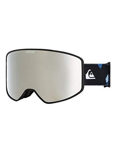Quiksilver Storm Sportline-Snowboard/Esquí Máscara para Hombre, True Black, 1SZ