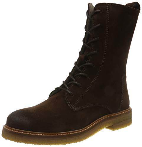 Marc O'Polo Damen 00815377301325 Oxford-Stiefel, 790 Dark Brown, 39 EU