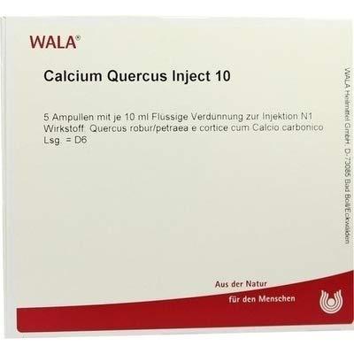 CALCIUM QUERCUS Inject 10 Ampullen 50 Milliliter