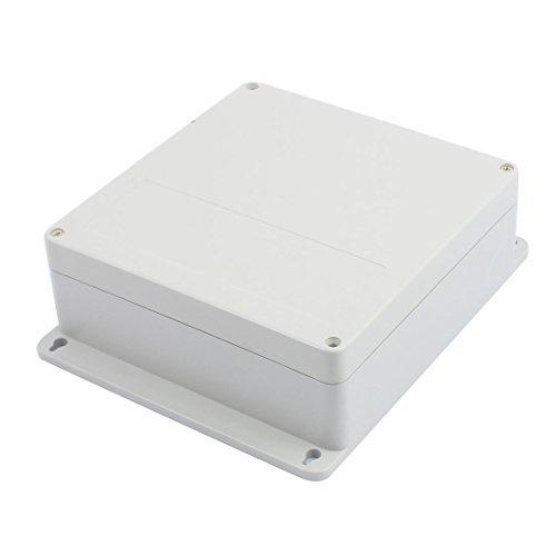 DealMux 190mm x 186mm x Funda impermeable de plástico bricolaje Conjunto de caja de conexiones eléctricas 70mm
