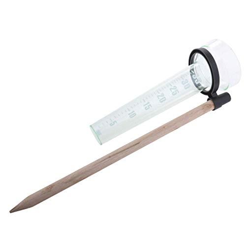 Happymore Home Kunststoff-Regenmesser, Outdoor-Regenwasserzähler, einfaches Regenwasser-Messgerät für Garten, Rasen, Hof