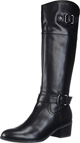 Bandolino Footwear Women's PRIES Knee High Boot, Black, 9