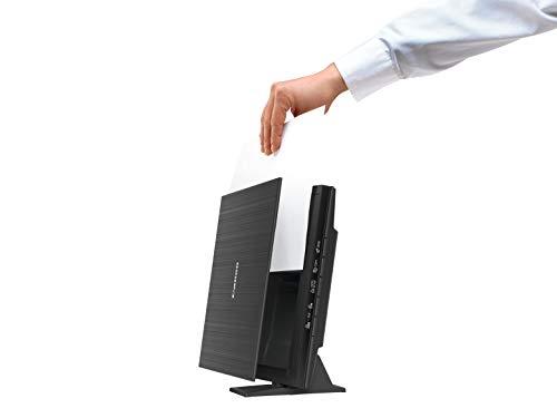 Canon LiDE 400 Scanner CanoScan Flachbettscanner DIN A4 (4.800 x 4.800 dpi, 5 Scantasten, Stromversorgung über USB, ca. 8 s/ Farbseite 300 dpi, 48 Bit interne Farbtiefe), schwarz