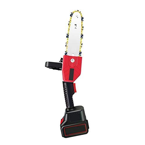 ZZSJC Mini Motosierra Eléctrica Inalámbrica Portátil De 10 Pulgadas De Mano para Cortar Madera