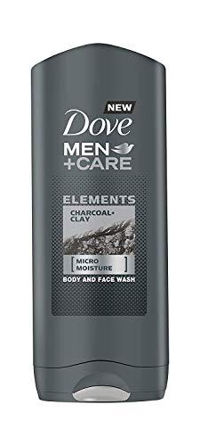 Dove Men+Care, Gel y jabón (Charcoal clay) - 400 ml.