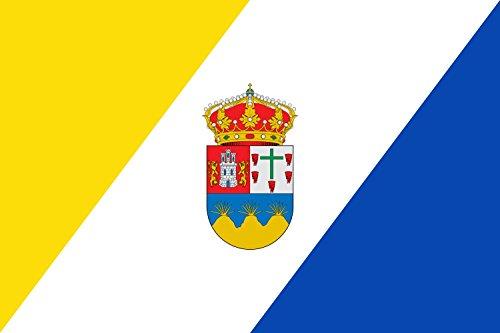 magFlags Bandera Large Municipio de Leganiel Castilla-La Mancha | Bandera Paisaje | 1.35m² | 90x150cm
