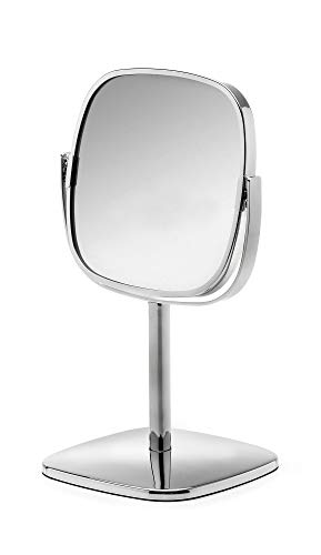 Robert Welch BURBR3308V Kosmetikspiegel, polierter Edelstahl, Höhe: 347 mm, Breite: 182 mm