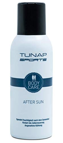 After Sun Spray von Tunap Sports, 150 ml | Kühlung der Haut bei Sonnenbrand mit Wirkstoff Panthenol (150ml)