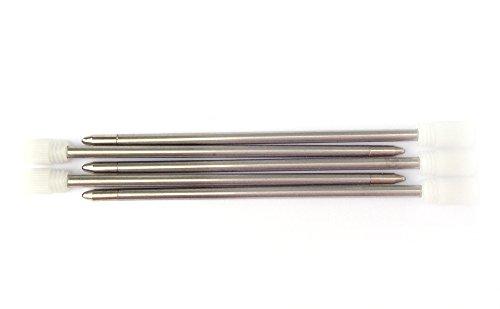 Minas de recambio (mini-pen refills) en color rojo y rojo. Compatible con bolígrafos con minas D1 de 67 mm de longitud (penagain). por ejemplo B. estos bolígrafos: Pocket Pen Lamy L401 / 21, Zebra, Cross 8518-4, Faber-Castell Mal-Set, Parker (Mono, E...