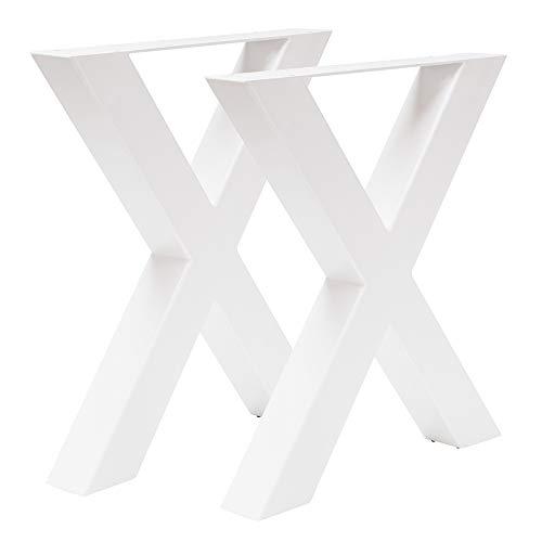 Table Pietement Acier
