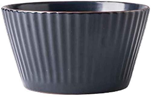 Home Creatività Stoviglie Ciotola di zuppa in ceramica Ciotola diporridge per uso domestico retrò europeo Ciotola di riso per la cucina di casa Ristorante Stoviglie Ciotola di snack di frutta