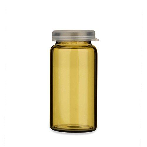 Tuuters 10x Tablettengläser 10ml | Braunglas | Hochwertig ✓ Inklusive Schnappdeckel ✓