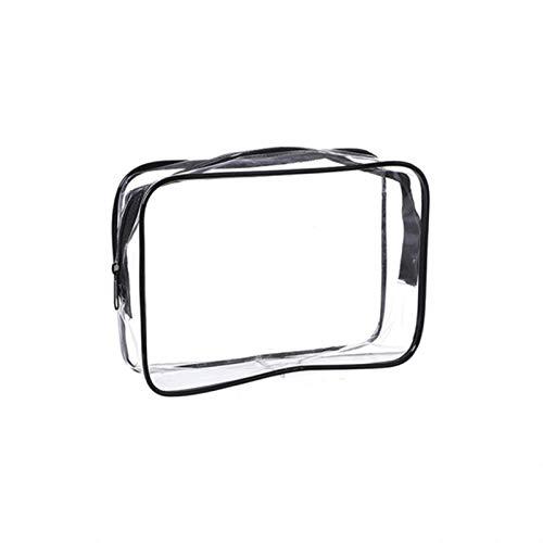 Bolsa de Maquillaje de PVC Transparente Bolsa de cosméticos Estuche de Belleza Neceser de baño Bolsa de Maquillaje Organizador de cosméticos Caja organizadora de Maquillaje Grande