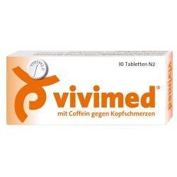 vivimed mit coffein gegen kopfschmerzen tabletten 30 St by Dr. Gerhard Mann GmbH