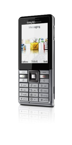 Sony Ericsson Naite Handy (TFT-Farbdisplay, 2 MP Kamera, GSM) vapour silver