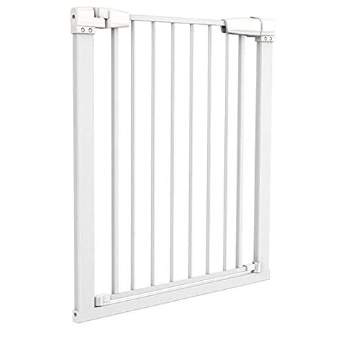 KTDT Protector de Pared para Puerta de bebé - Puertas de Interior para Mascotas Blancas para niños, para escaleras o entradas, Ancho 76-158cm (tamaño: Ancho 166-173cm)