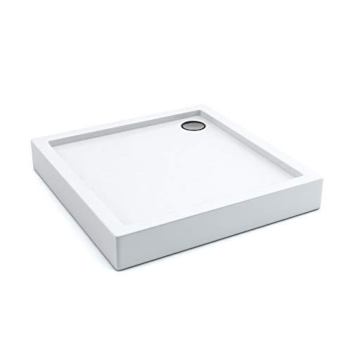 AQUABAD® Duschwanne Comfort Ultima 90x90cm Quadrat