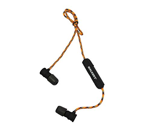 Walker's Game Ear Neckband Bluetooth Headset, 30 NRR, and Carrying Case, Multi (GWP-RP-BT)