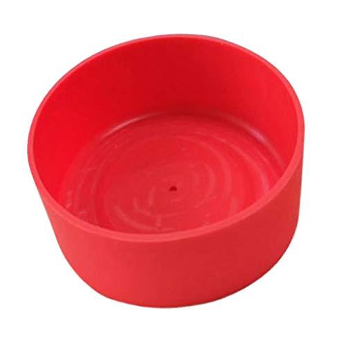 perfeclan Bota Flexible de Silicona para Matraz de Hidratación - Varios Tamaños Y Colores - Rojo