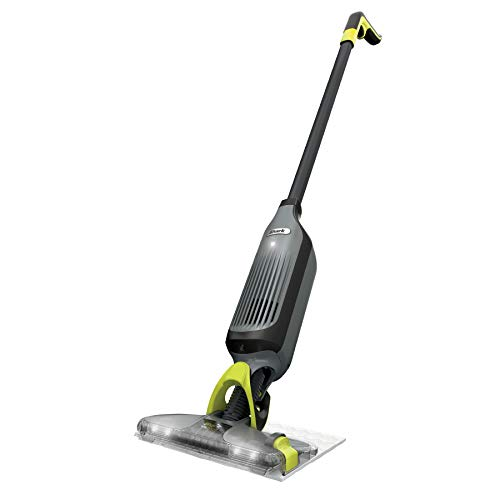 Shark VM252 VACMOP Pro Cordless Hard Floor Vacuum Mop with Disposable Pad, Charcoal Gray