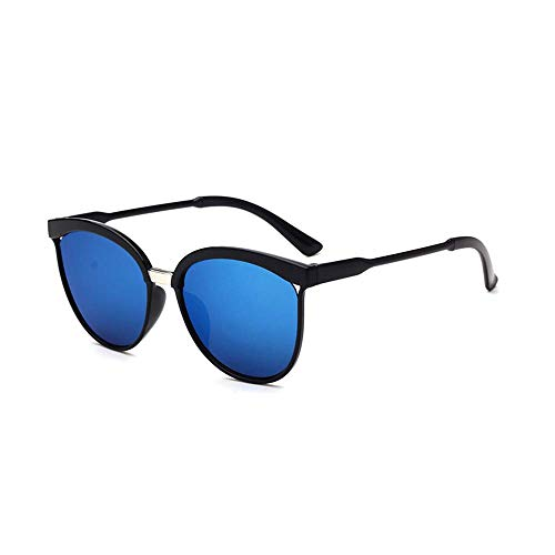 Gafas De Sol Cuadradas Para Hombre,Gafas De Sol Con Patillas De Madera En Diferentes Colores Piloto Redondas Con Espejos Uv400 (D)