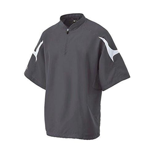 Holloway 222485 Sportswear Men's Equalizer Jacket Men's S Graphite/White, Graphite/White, Small