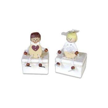 DISOK - Set 30 Cajas Novios - Cajitas para Detalles, Recuerdos y Regalos de Bodas Originales: Amazon.es: Juguetes y juegos