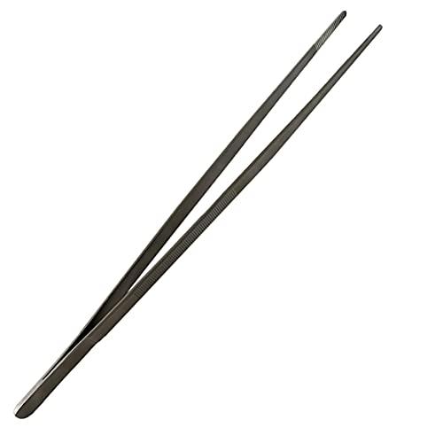 Sunglow Kochpinzette aus Edelstahl (35,0 cm)   Küchenpinzette Grillpinzette Zange zum Kochen Grillen Backen