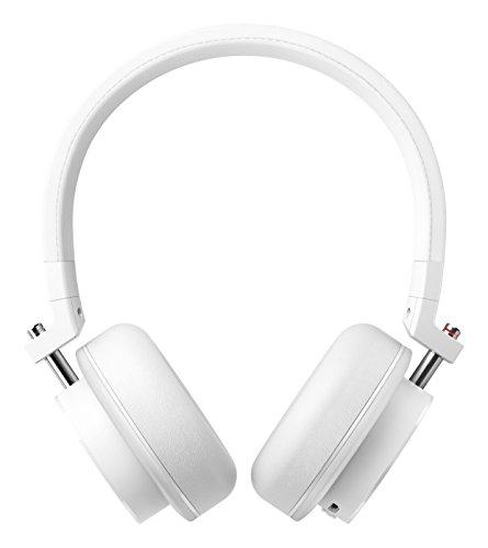 ONKYO 密閉型ワイヤレスヘッドホン Bluetooth対応/NFC対応/リモコン・マイク付 ホワイト H500BTW